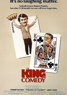 featured movie The King of Comedy