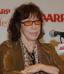 featured comedian Lily Tomlin