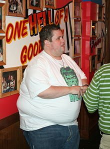 featured comedian Ralphie May